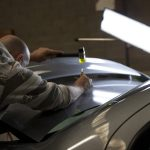 Paintless Dent Repair Course Melbourne 1st to 5th July 2013 Day 2 and Day 3 19
