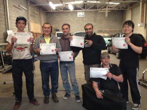 All PDR Training Graduates receive certificates and assessment portfolios